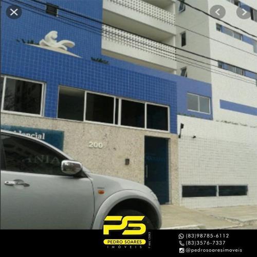 Apartamento Com 4 Dormitórios À Venda, 107 M² Por R$ 450.000 - Aeroclube - João Pessoa/pb - Ap3648