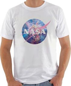 Camiseta Infantil Masculina Feminina Nasa Universo 1045