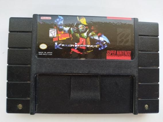 Killer Instinct Original Super Nintendo Snes