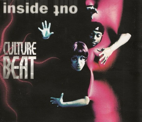 Cd Maxi Culture Beat - Inside Out - Euro Italo House Import