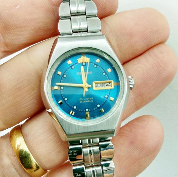 Relógio Orient Feminino Automático E Corda