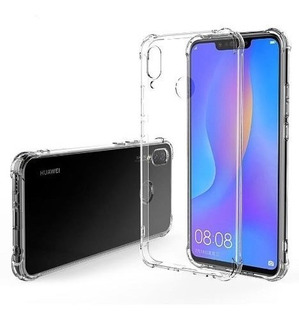 Funda De Silicona Transparente Rigída Huawei P20 Lite