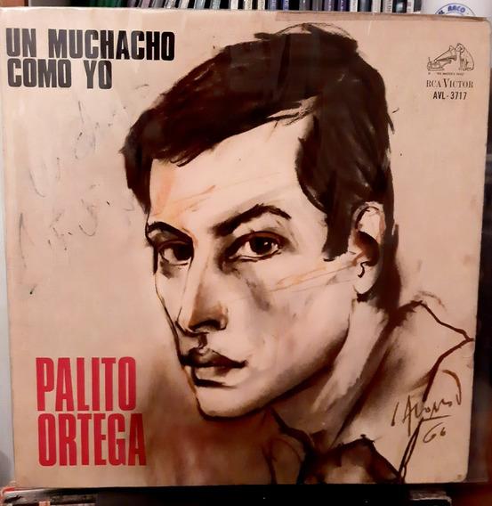 Palito Ortega - Un Muchacho Como Yo - Disco Vinilo Lp
