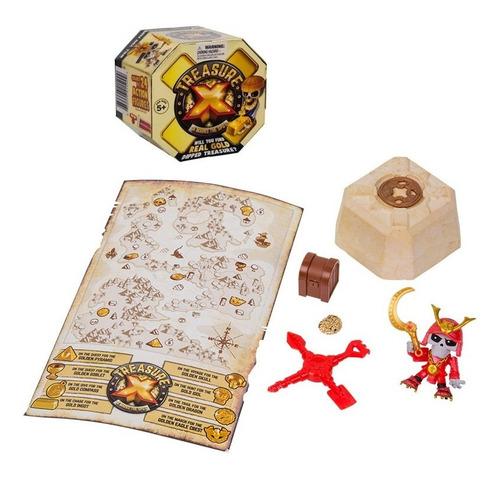 Imagen 1 de 10 de Treasure X Descubri El Tesoro Escondido 1 Figura Y Acc Orig.