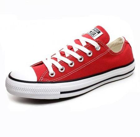 Tênis Converse All Star Vermelho Cano Baixo Ct00010004