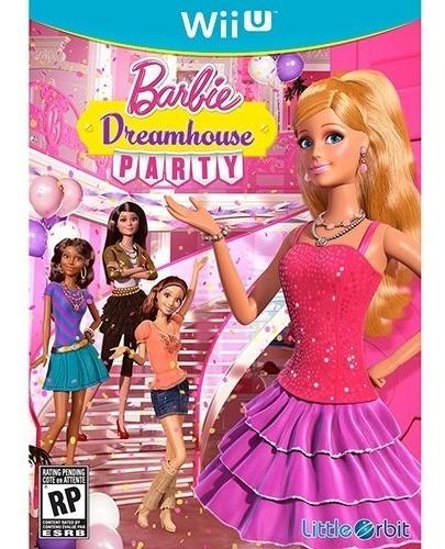 Jogo Novo Barbie Dreamhouse Party Para Nintendo Wii U