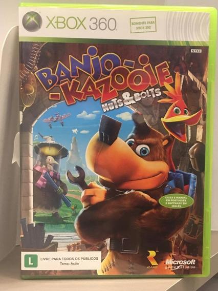 Banjo Kazooie Nuts & Bolts Xbox 360 Midia Fisica Usado