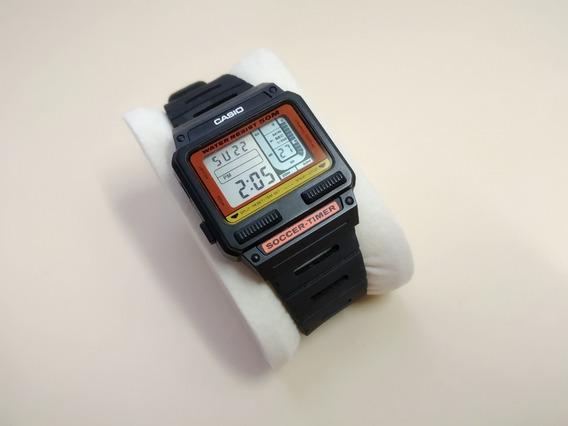 Raríssimo Relógio Casio Sw-110 Soccer Timer (para Árbitros)