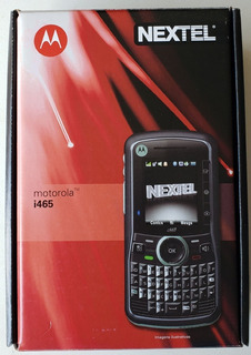 Smartphone Motorola I465 - Nextel, Novo Na Caixa