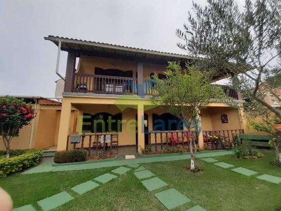 Casa Duplex Em Cabo Frio (peró) 4 Quartos, 2 Suítes, Área Gourmet, Garagem 6 Autos, Varandas, Frutíferas. - Ilca40093