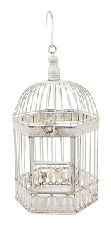 Jaula Para Aves Diseño Decorativo 14 Pulgadas