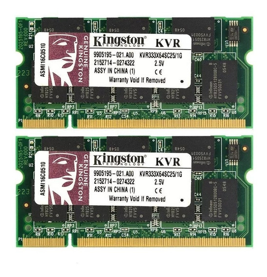 Memoria Kingston Notebook Ddr3 1gb 1066mhz