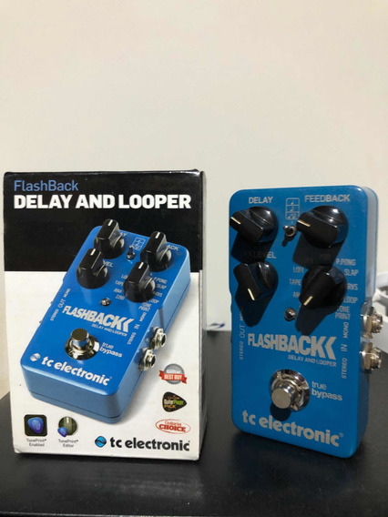 Pedal Flashback Tc Electronic Delay And Looper
