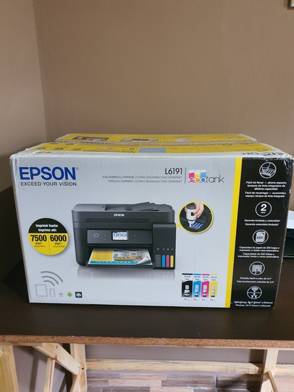 Impressora Multifuncional Epson Tank L6191