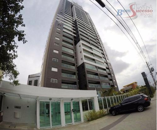 Imagem 1 de 21 de Apartamento Com 1 Dormitório À Venda, 55 M² Por R$ 630.000,00 - Jardim Anália Franco - São Paulo/sp - Ap1750