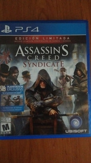Assassins Creed Sindicate Para Ps4