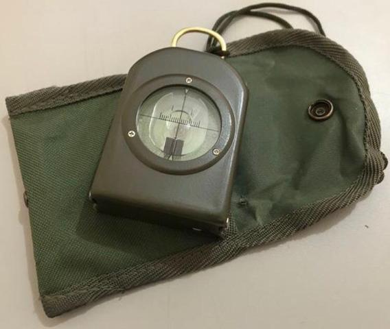 Bússola Profissional Com Medidor De Mapas E Clinômetro S80