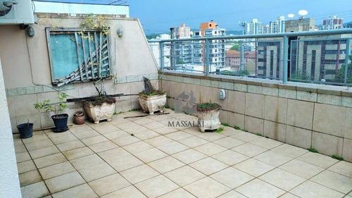 Cobertura Duplex Com Garagem À Venda No Bairro Menino Deus - Porto Alegre/rs - Co0091