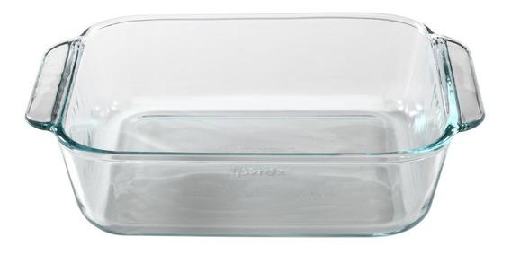 Asadera Pyrex Basics Fuente Vidrio Templado- 20 Cm 1,9 Lts