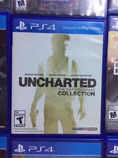 Ps4 Uncharted Collection 3 Juegos Físico Blu-ray Envíos