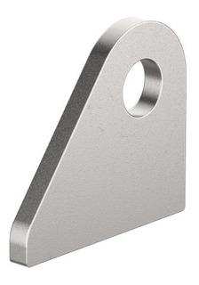 Soporte Cara Plana Oreja 3/16 Perf. 12mm 50 X 44 Raw Parts