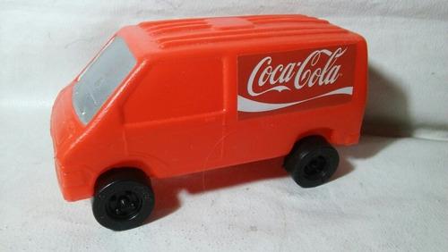 Trafic De Coca Cola Plastico Inflado Ideal Mano Control 17cm