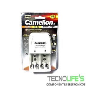 Carregador De Pilha Aa Aaa 9v Universal Bc-0904 Camelion