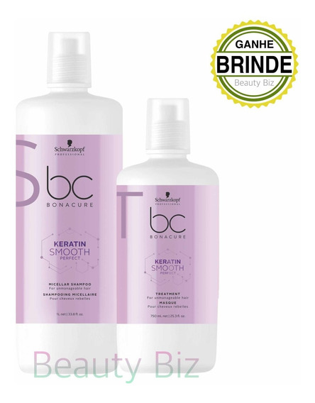 Schwarzkopf Kit Bonacure Keratin Smooth Perfect (2 Produtos)