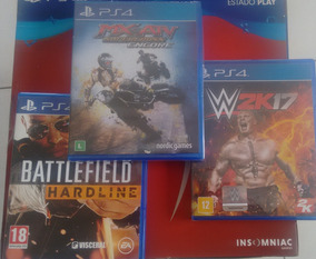 Pct De Jogos Ps4- Battlefield Hardline-mx Vs Atv- W2k17