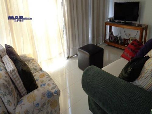Imagem 1 de 12 de Apartamento Residencial À Venda, Barra Funda, Guarujá - . - Ap8687