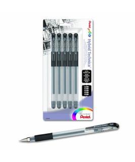Pentel Arts Hybrid Technica Gel Pen Con Tamaños De Punta