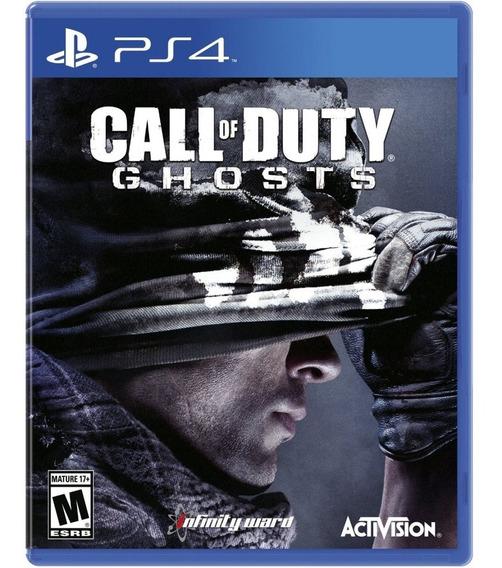 Call Of Duty Ghosts Ps4 Mídia Física Lacrado