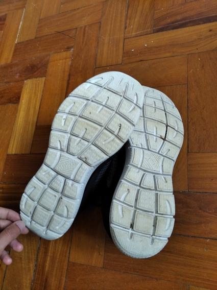 Tênis Skechers Memory Foam 42 Preto E Cinza