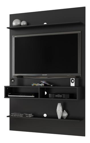 Painel Vega Para Tv De 47 Polegadas - Preto Fosco