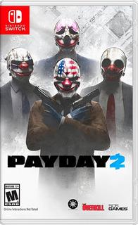 Payday 2 Nintendo Switch En Español . (en D3 Gamers)