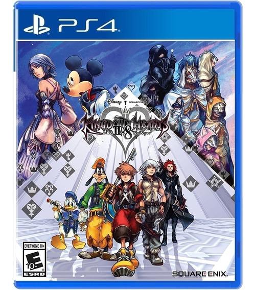 Jogo Kingdom Hearts Hd 2.8 Ps4 Midia Fisica Novo Original