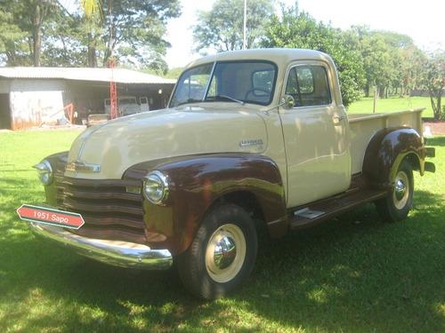 Imagem 1 de 15 de Chevrolet 1951 - Pick Up