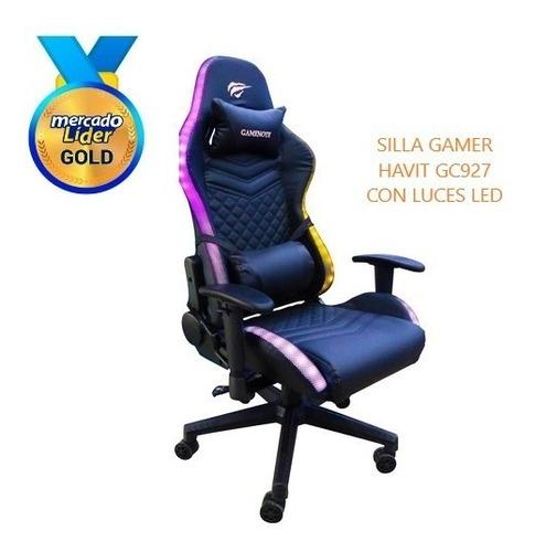 Silla Gamer Havit Con Luz Gc927 Incluye Iva