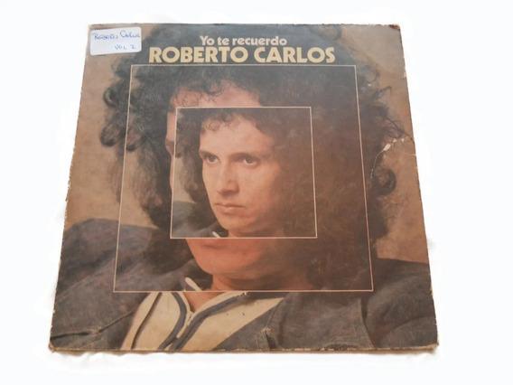 Tapa Del Vinilo Roberto Carlos Yo Te Recuerdo Sin Disco
