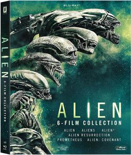 Alien 6 Film Collection Blu-ray Nuevo Importado Original