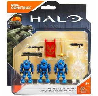 Spartan Ctf Base Crashers Blue Team Mega Construx