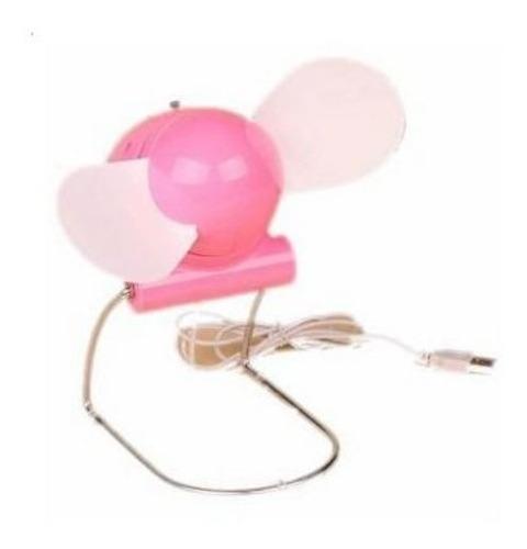 Mini Ventilador Con Usb-colores Variados