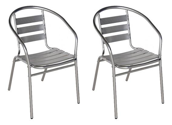 Cadeiras Jardim Áreas Externas Em Alumínio Mor Jardim