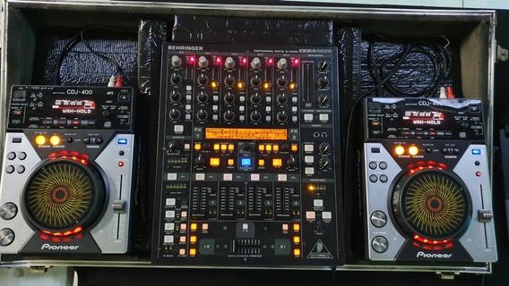 Cdj 400 C/ Mixer Behringer Ddm 4000
