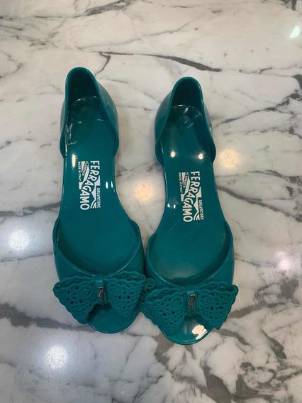 Zapato De Verano Ferragamo Talla 7 Americano