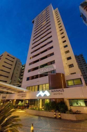 Flat Com 1 Dormitório Para Alugar, 45m² Por R$ 3.000,00/mês - Adrianópolis - Manaus/am - Proximo Ao Manauara Shopping - Fl0024