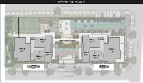 Apartamento  Com 2 Dormitório(s) Localizado(a) No Bairro Perdizes Em São Paulo / São Paulo  - 15911:922860