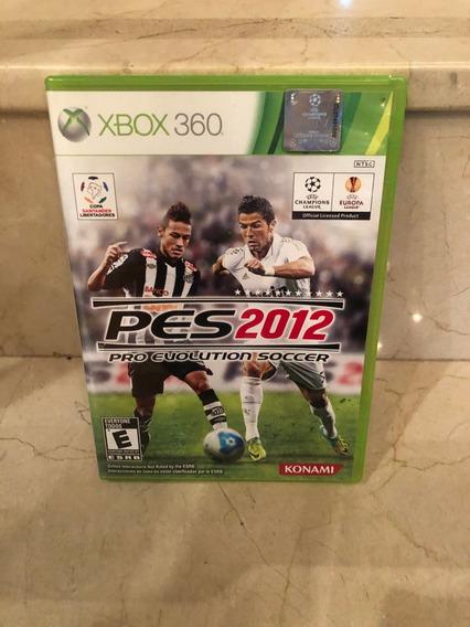 Pes 2012 Pro Evolution Soccer Xbox 360