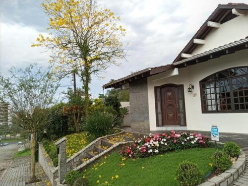 Casa No América Com 4 Quartos Para Venda, 306 M² - Lg7275