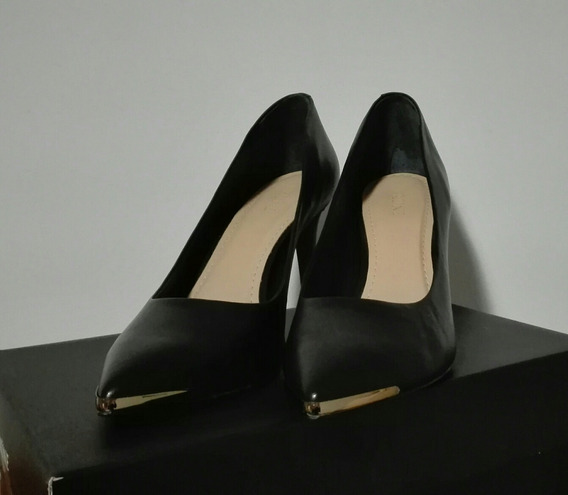 Zapatos Negro Prune Stilettos Nro 39 Sin Uso!!! Impecables!!
